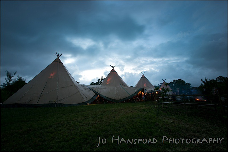 Jo Hansford Photography - Tipi Weddings