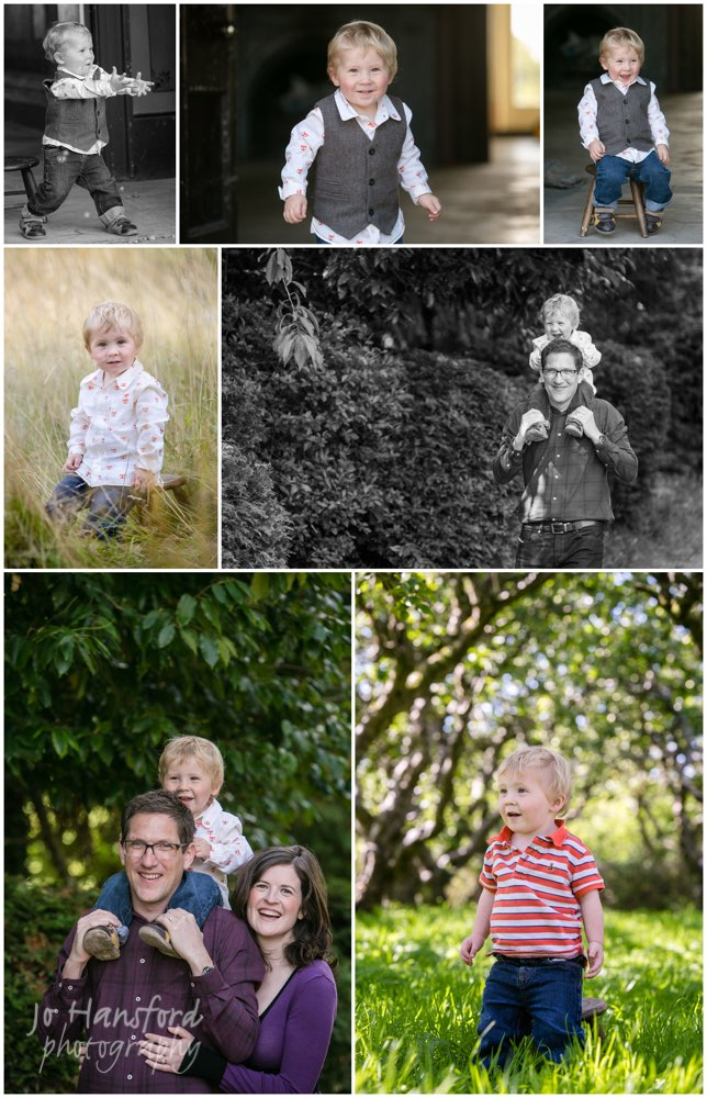 Family portraits in Solihull – Alex with Sara and Stuart