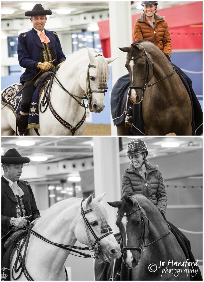 Olympia Horse Show Valegro Jo Hansford