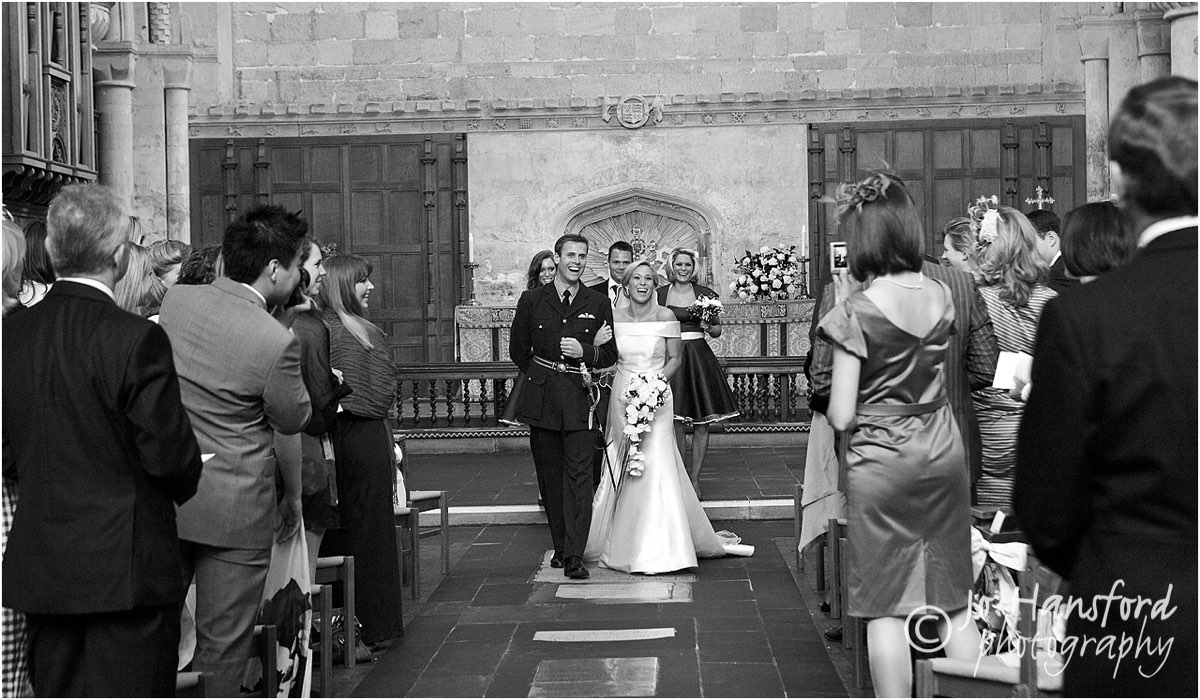 "From the Archives – the ""just married moment"""