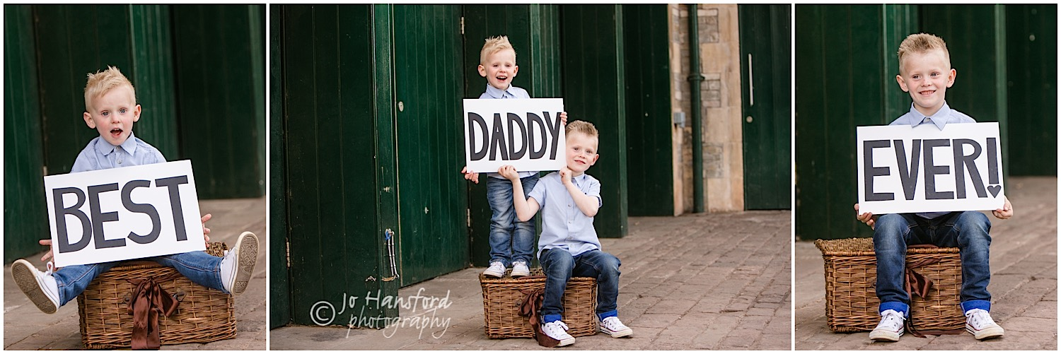 Fathers Day photography Jo Hansford