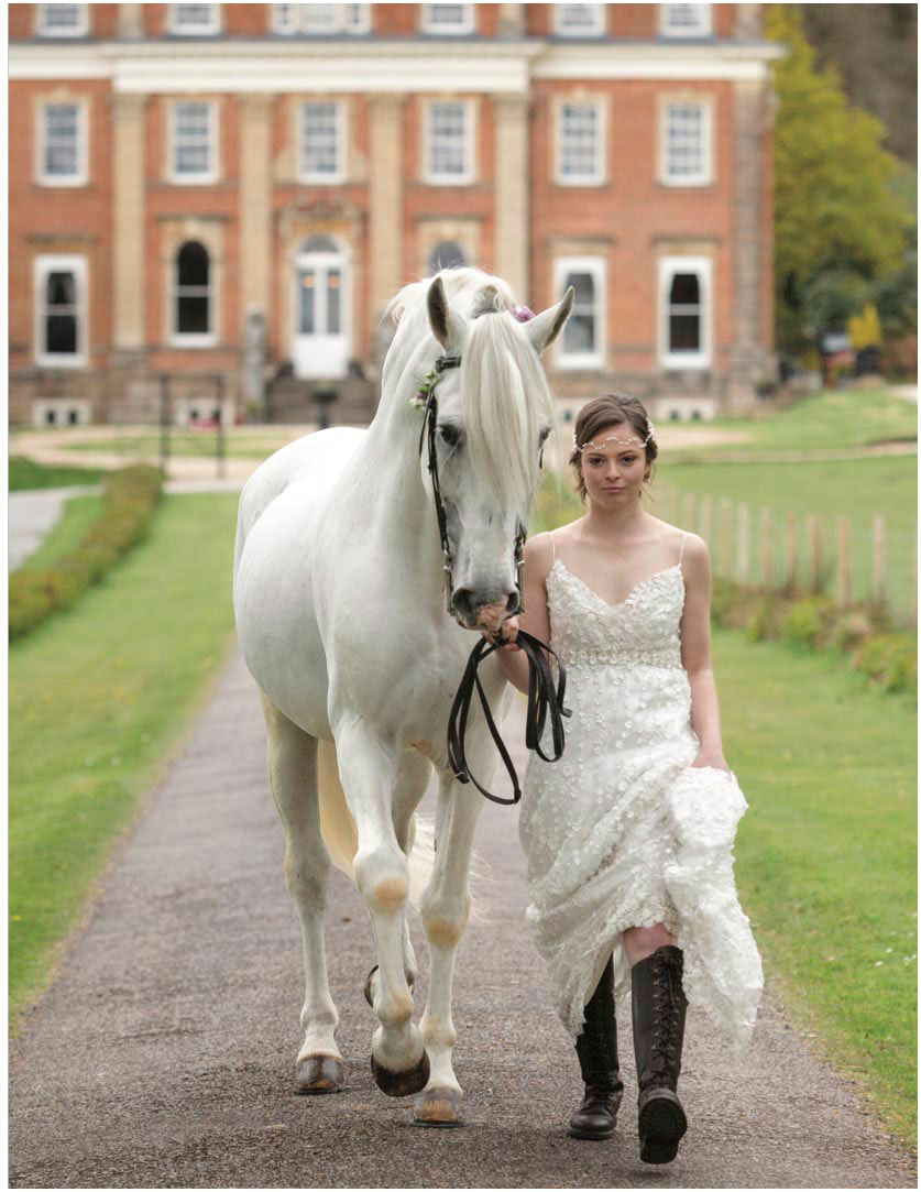 Bridal equine jo hansford photography