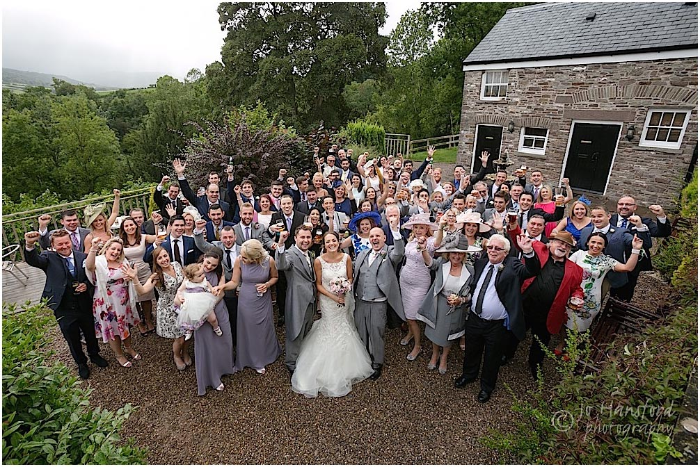 Peterstone Court wedding Jo Hansford