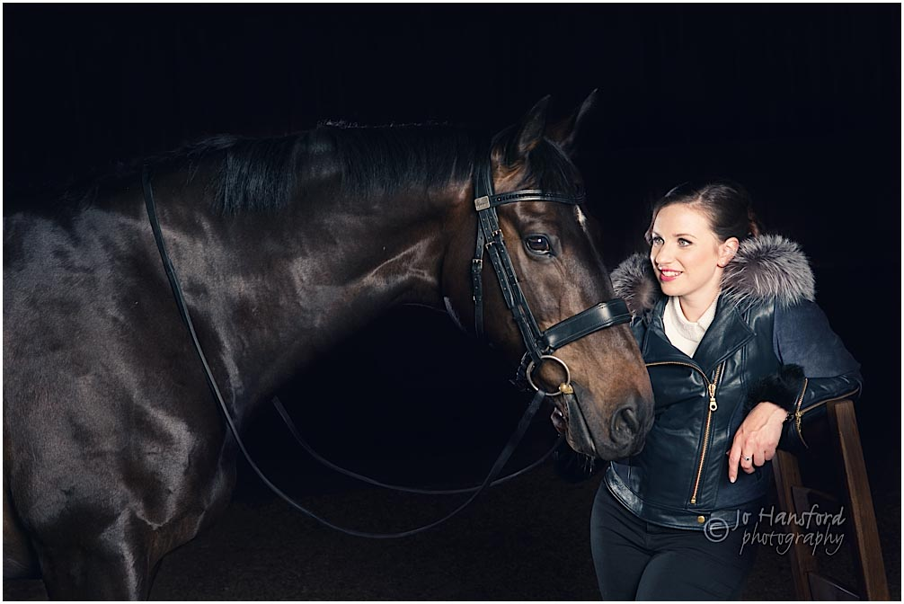 Equine winter shoot Jo Hansford