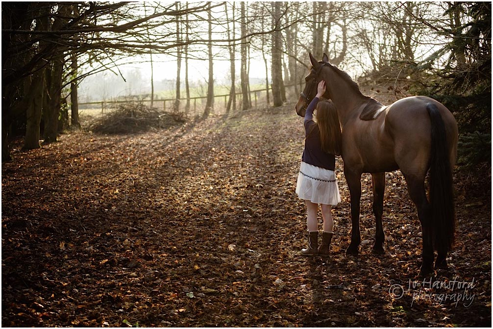 Horse photographer Cotswolds Jo Hansford