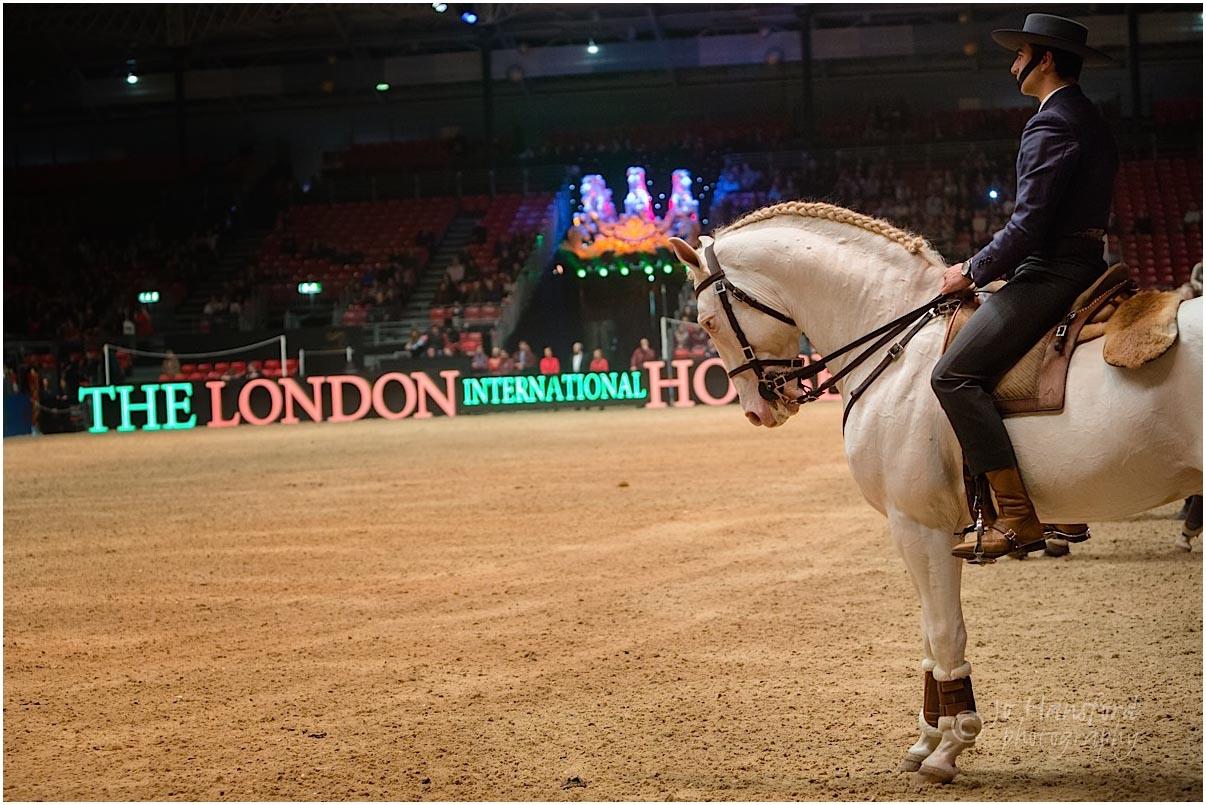 Olympia Horse Show Jo Hansford
