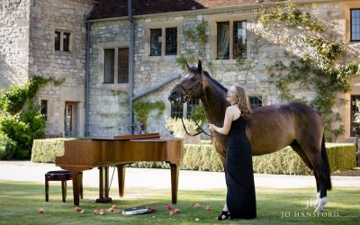 Equine photography in Wiltshire – Jemima, Rambo and the piano!