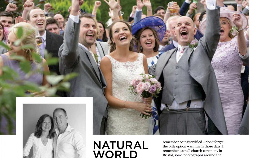 Wedding feature in Vow magazine