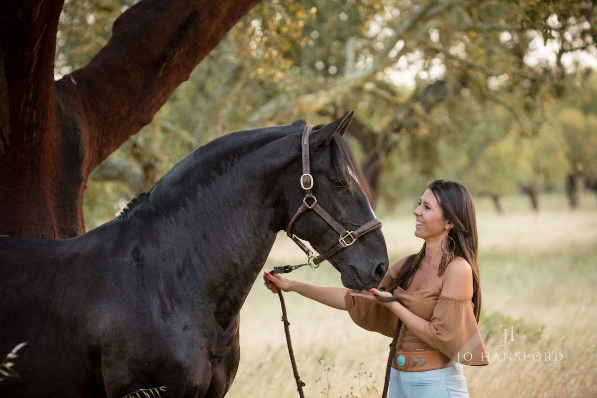 Horse photographer Portugal Jo Hansford