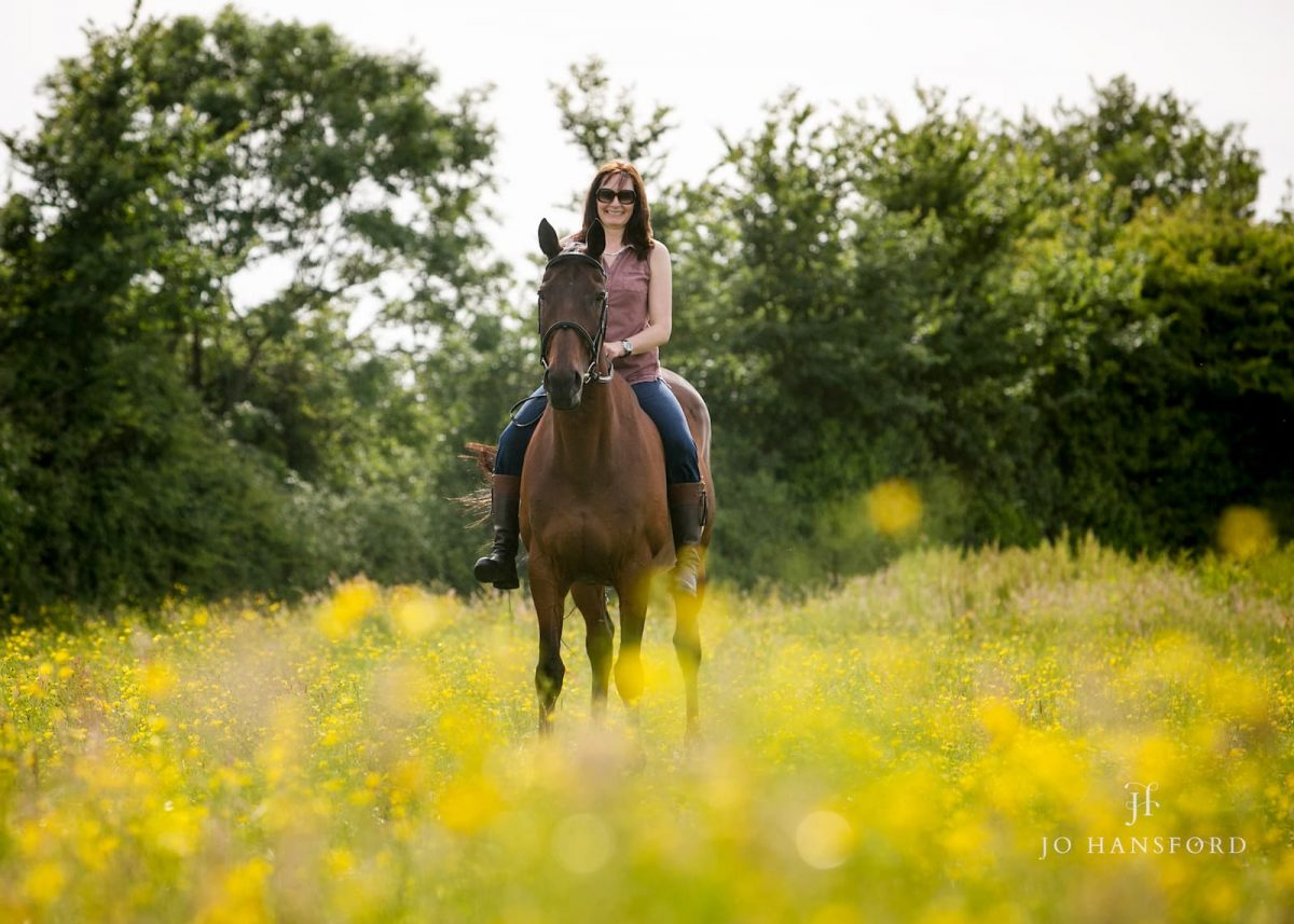 Equine photoshoot Gloucestershire Jo Hansford