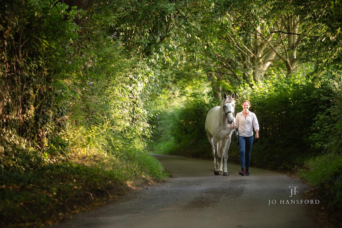 Horse photographer Wiltshire Jo Hansford