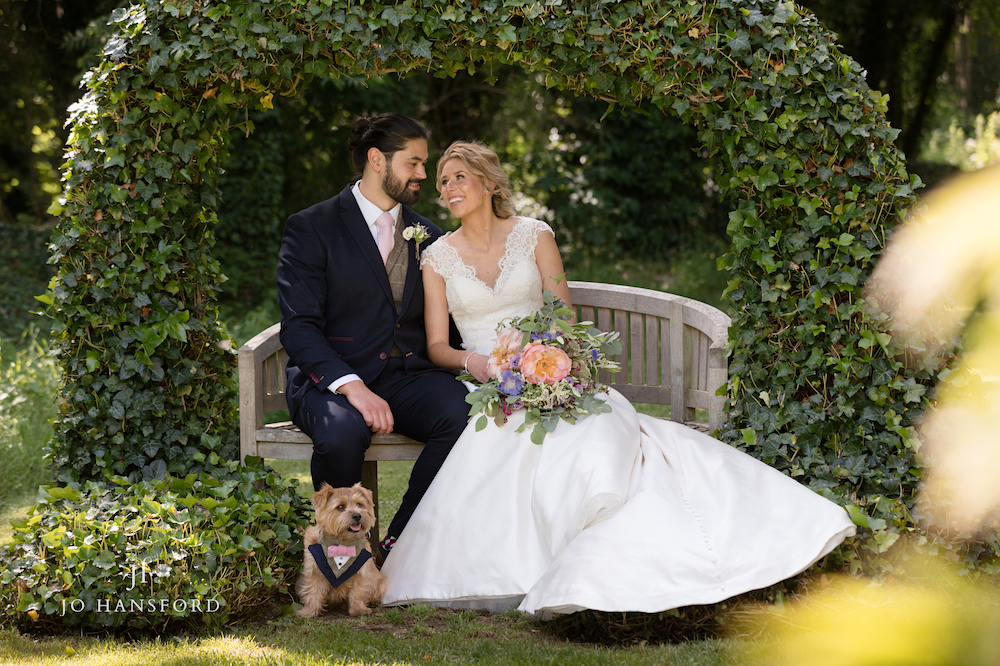 Pets at weddings Jo Hansford