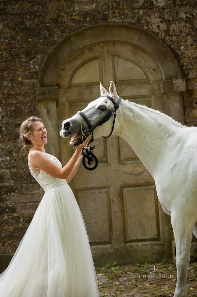 Everything you need to know about having your horse or pet at your wedding