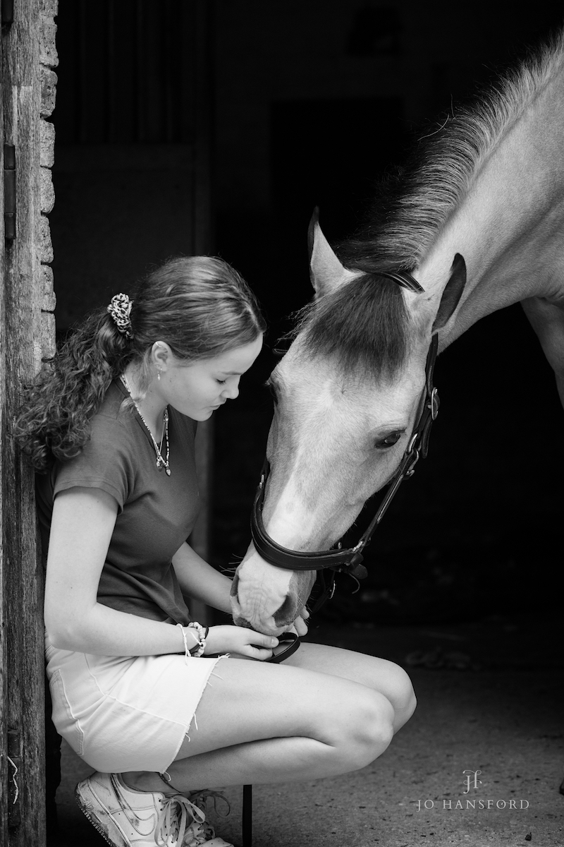 Equine photographer Gloucestershire Jo Hansford