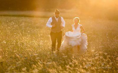 Cripps Barn wedding – Dee & Ben's amazing day & Rodger the furry fourlegged ring-bearer
