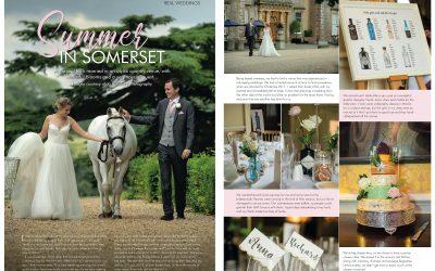 Anna & Richard's Ston Easton Park wedding featured in Your Bristol & Somerset Wedding magazine!