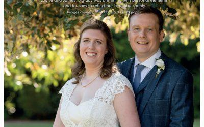Hot off the press! Louise & James' amazing Somerset wedding.