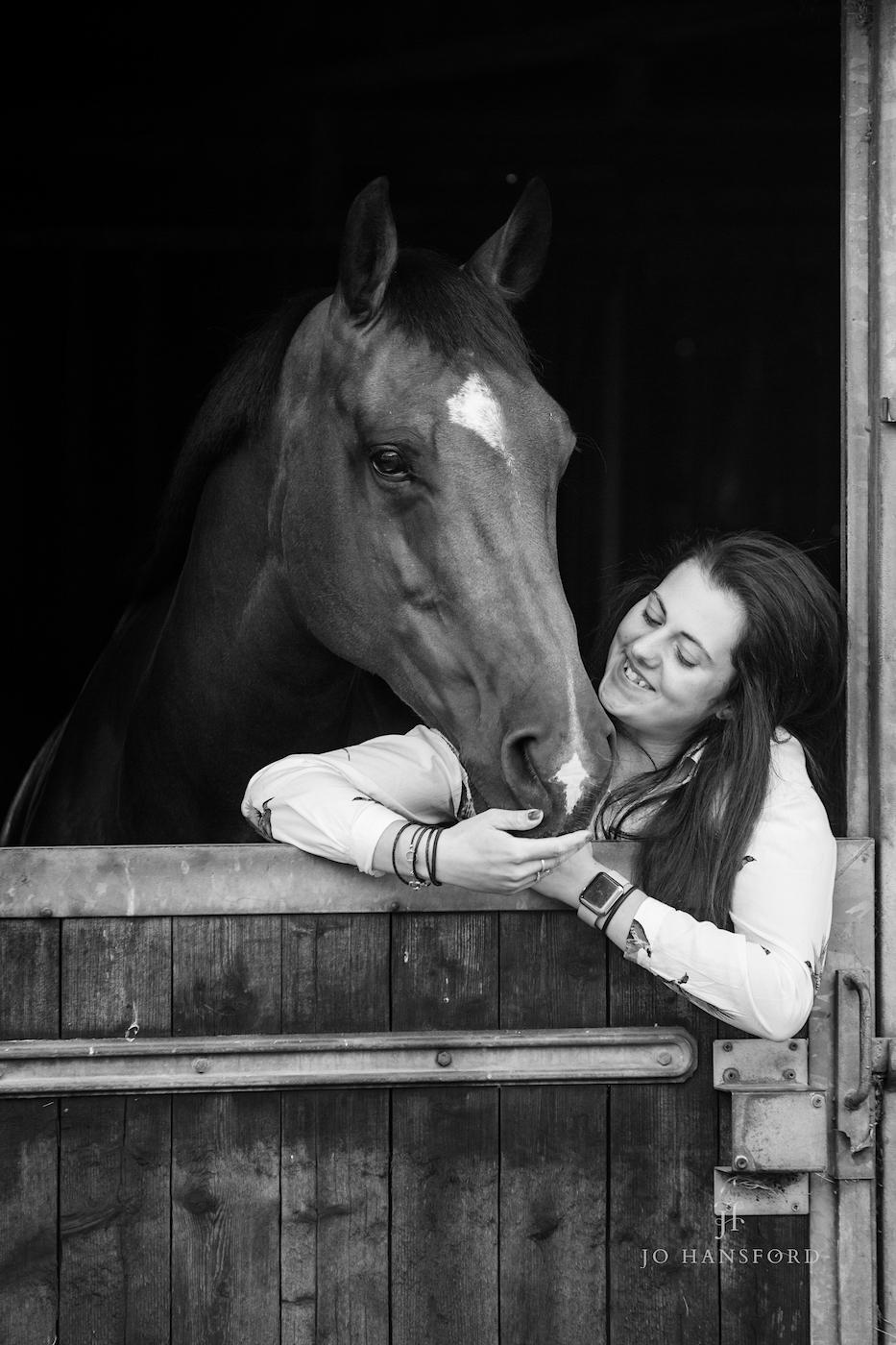 Horse photographer Gloucestershire Jo Hansford